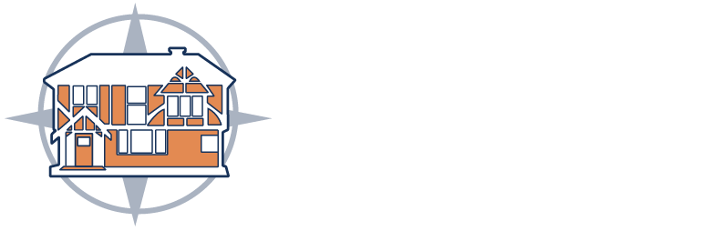 all point house and compass logo
